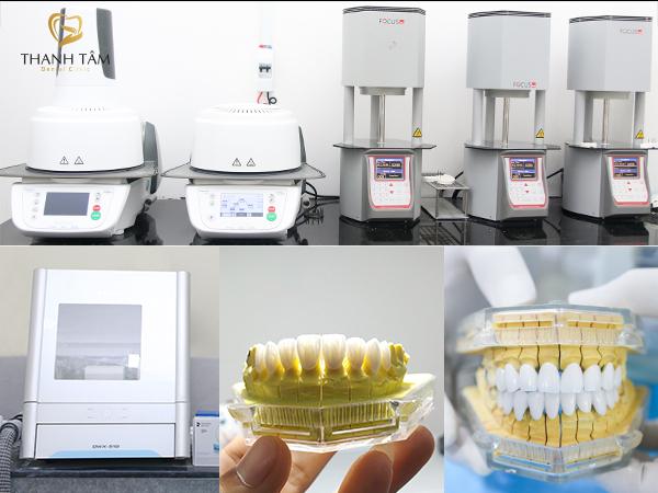 Chế tác răng sứ máy CAD/CAM hiện đại