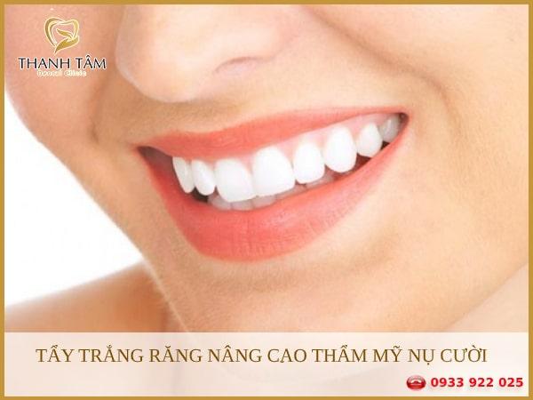 Tẩy trắng răng mang lại hàm răng trắng sáng