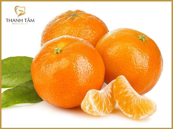 Sử dụng trái cây tươi loại sạch mảng bám