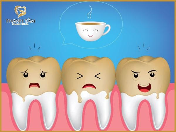 Tình trạng răng nhiễm màu