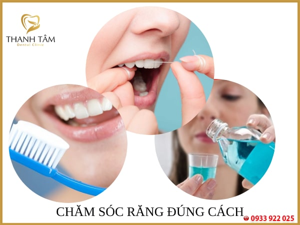 Vệ sinh răng miệng đúng cách, thường xuyên