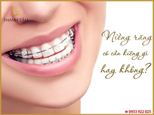 Niềng răng nên kiêng nhiều điều