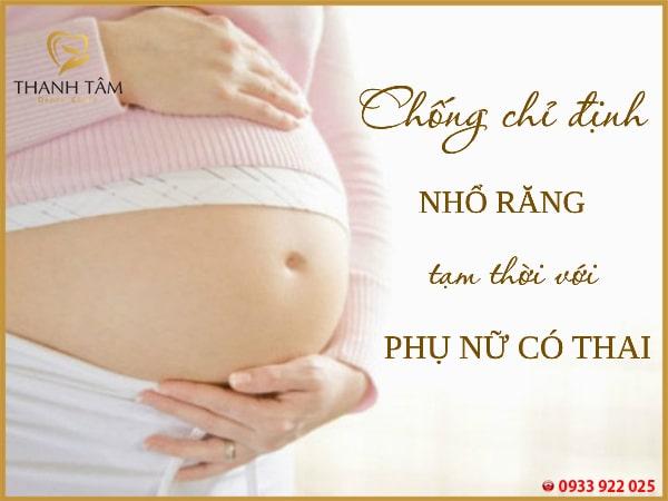 Phụ nữ mang thai không nên thực hiện