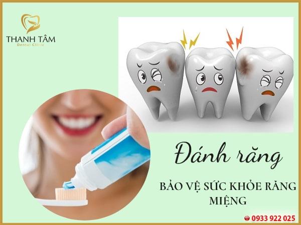 bảo vệ sức khỏe răng miệng tốt