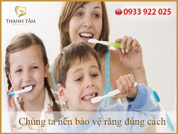 Răng cần được chăm sóc, bảo vệ mỗi ngày