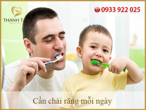 vệ sinh răng đúng cách