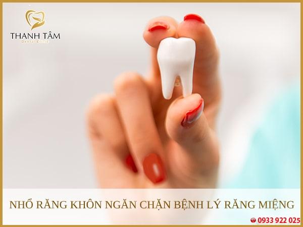 Nhổ bỏ răng khôn nhằm ngăn chặn những ảnh hưởng xấu đến sức khỏe