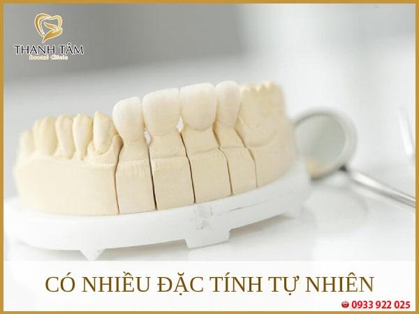 Răng sứ Lava có nhiều đặc tính tự nhiên nhu răng thật