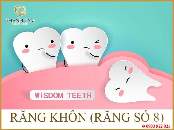 Chăm sóc sau nhổ răng khôn