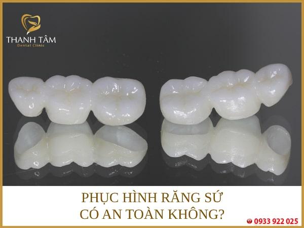 Bọc răng sứ giá rẻ đảm bảo an toàn nếu thực hiện đúng quy trình