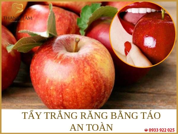 Ăn táo loại bỏ mảng bám hiệu quả