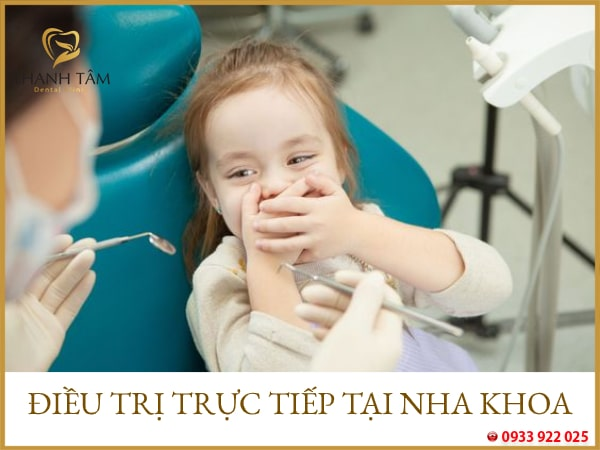 điều trị răng sâu cho bé