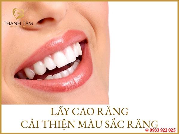 lấy cao răng có lợi hay hại