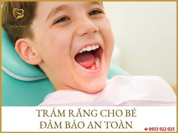 trám răng đảm bảo an toàn