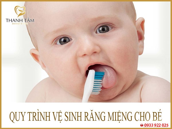 quy trình chăm sóc răng miệng