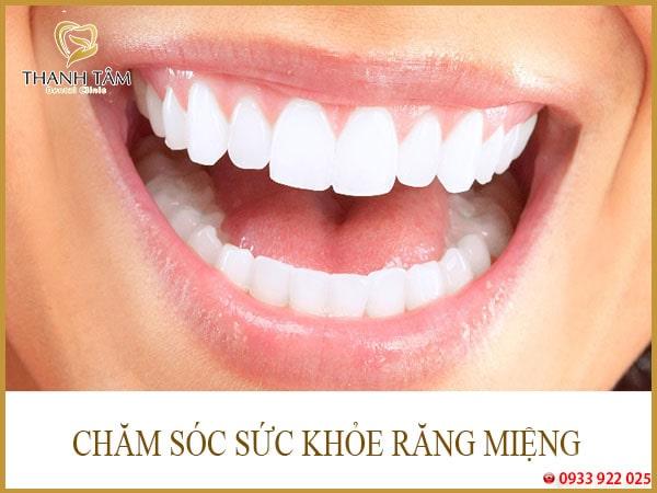 răng khỏe mạnh