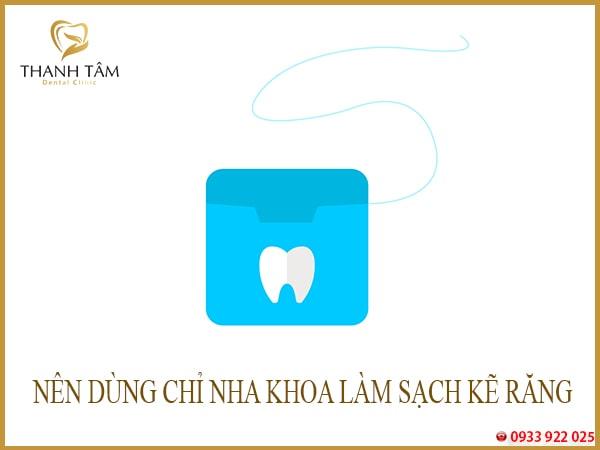 Làm sạch kẽ răng