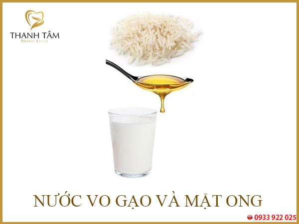 Chữa hôi miệng bằng nước vo gạo
