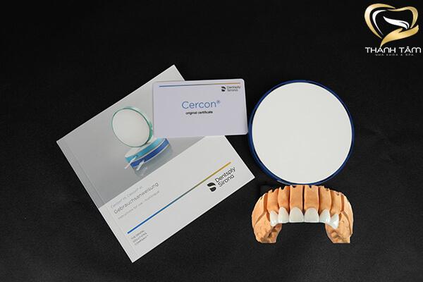 Vật liệu bọc răng sứ chính hãng