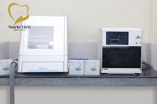 Cơ sở vật chất nha khoa hiện đại - Máy Cad/Cam