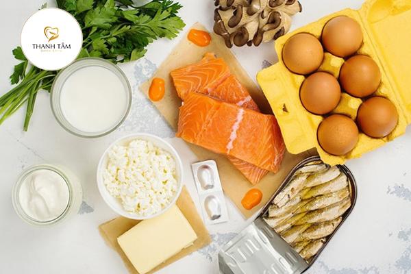 Bổ sung thực phẩm giàu Vitamin D