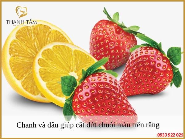 Sử dụng những loại trái cây giúp tẩy trắng răng tốt