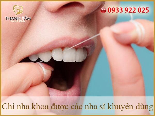 Hãy dùng chỉ tơ để làm sạch răng thay vì dùng tăm tre