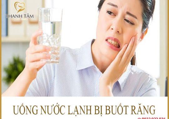 uống nước lạnh bị buốt răng