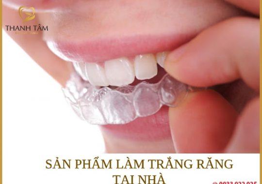 sản phẩm làm trắng răng tại nhà