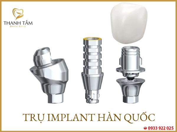 Trụ Implant hàn quốc