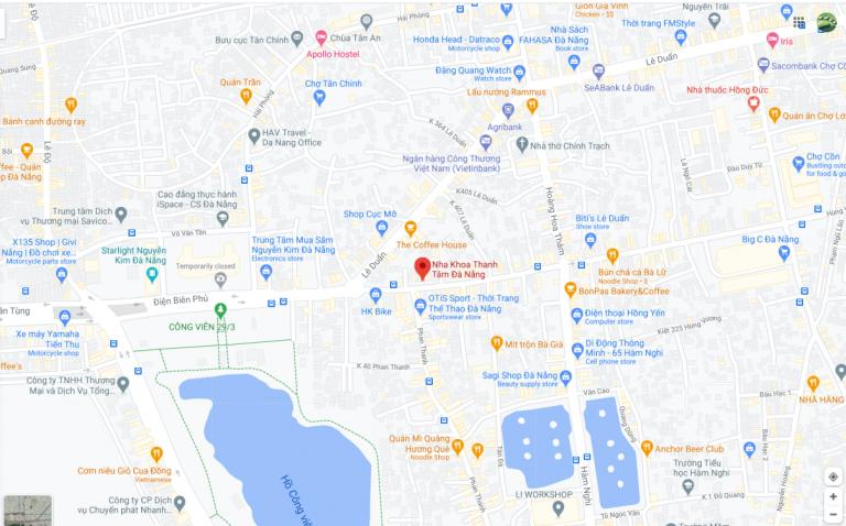 map danang