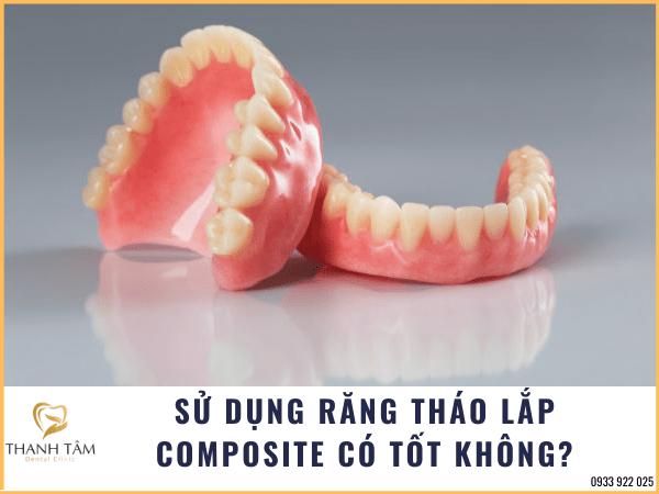 Răng tháo lắp Composite