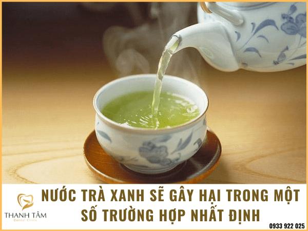 Tẩy trắng răng bằng trà xanh
