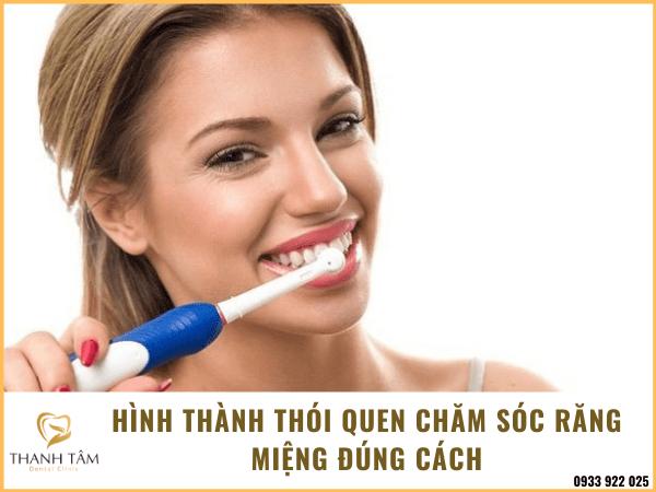 Hình thành thói quen đánh răng đúng cách