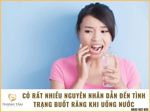 Rất nhiều trường hợp gặp phải tình trạng răng nhạy cảm