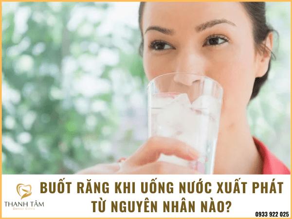 Buốt răng khi uống nước