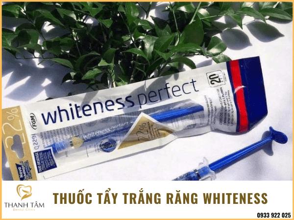 Các loại thuốc tẩy trắng