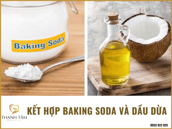 Lấy cao răng bằng baking soda