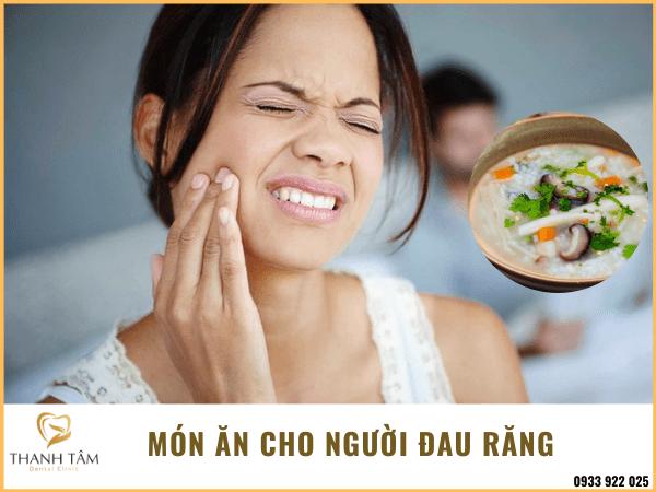 món ăn cho người đau răng