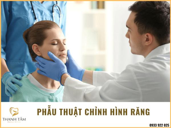 Phẫu thuật chỉnh hình răng