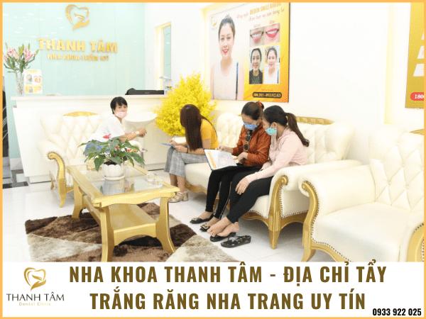 Tẩy trắng răng Nha Trang