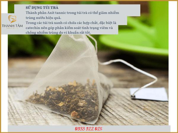 Sử dụng túi trà