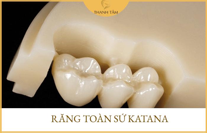 các loại răng sứ không kim loại