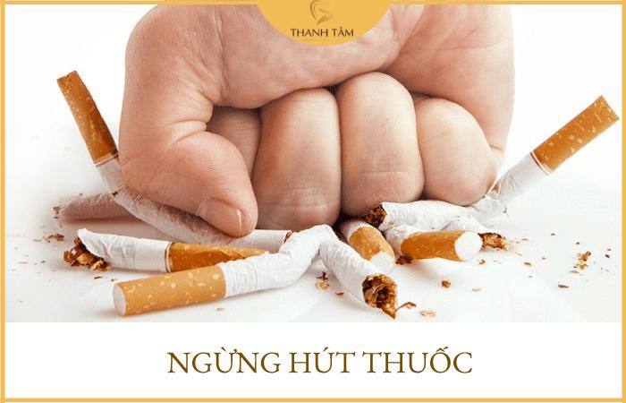 Ngừng hút thuốc