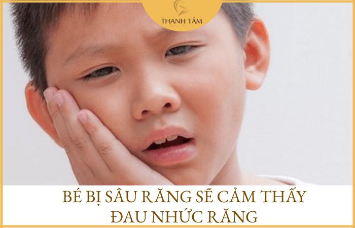 Trẻ 5 tuổi bị sâu răng hàm